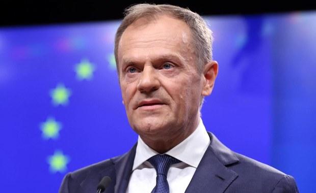 """Tusk zapowiada, że zwróci się do """"27"""" o przedłużenie rozmów ws. brexitu"""