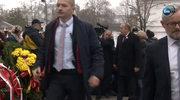 Tusk złożył wieniec przed pomnikiem Piłsudskiego