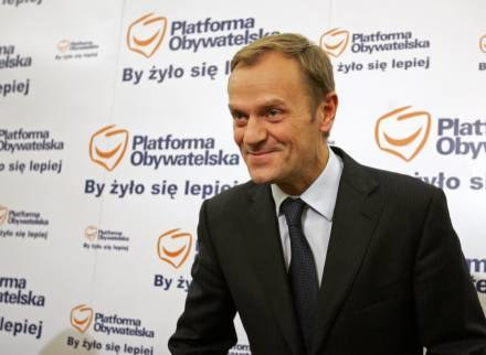 """Tuskowi marzy się cud gospodarczy """"na miarę Irlandii"""" /AFP"""