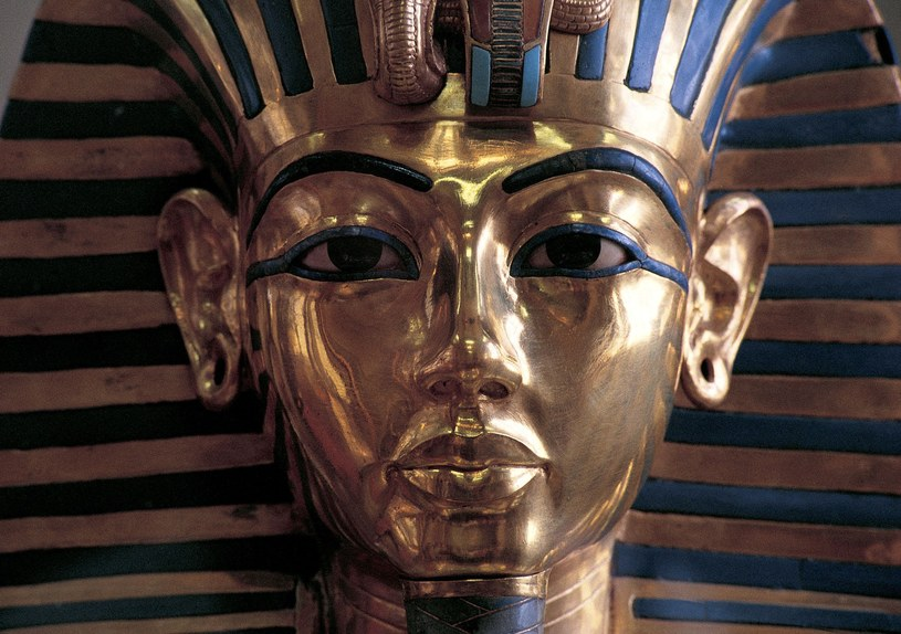 Tutanchamon panował zaledwie przez dekadę. Na tronie usiadł jako 10-latek /materiały prasowe