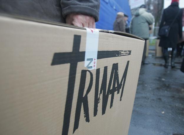 TV TRWAM ma poparcie senatora Solidarnej Polski. Fot. JACEK SMARZ /Agencja SE/East News