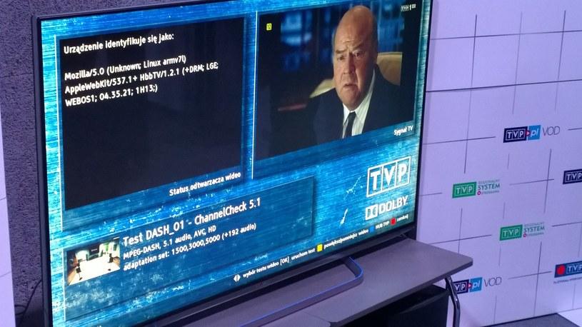 TVP oraz LG zaprezentowały w Łodzi streaming 4K w technologii HbbTV /materiały prasowe