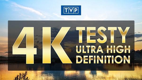 TVP wreszcie rozpoczyna testy 4K /SatKurier