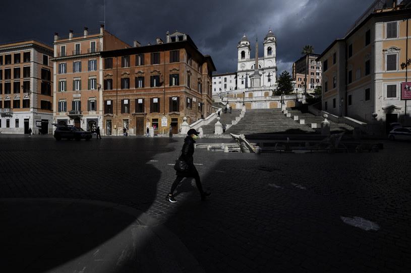 Twardy lockdown w połowie włoskich regionów objął 48 mln osób /Antonio Masiello /Getty Images