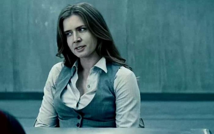 """Twarz Nicolasa Cage'a w fragmencie filmu """"Człowiek ze stali"""" zastąpiła twarz aktorki Amy Adams /materiał zewnętrzny"""