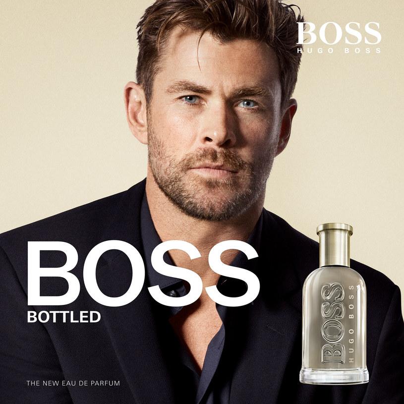 Twarzą zapachu jest Chris Hemsworth /materiały prasowe