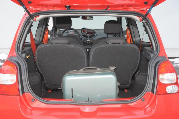 twingo bagażnik /Motor