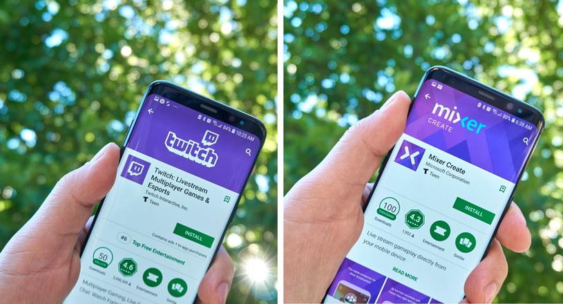 Twitch kontra Mixer - coraz mocniejsza walka między platformami streamingowymi /123RF/PICSEL