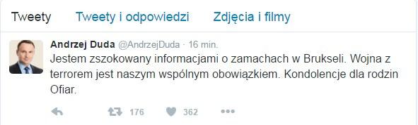 Twitter Andrzeja Dudy /Twitter