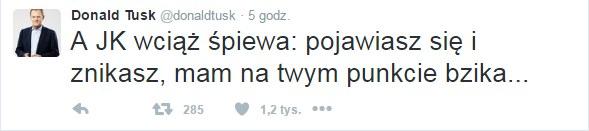 Twitter Donalda Tuska /Twitter