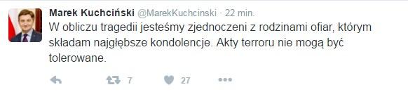 Twitter Marka Kuchcińskiego /Twitter