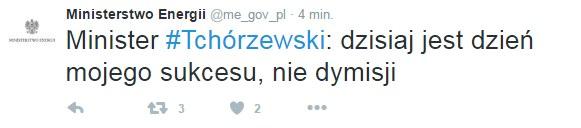 Twitter Ministerstwa Energetyki /Twitter