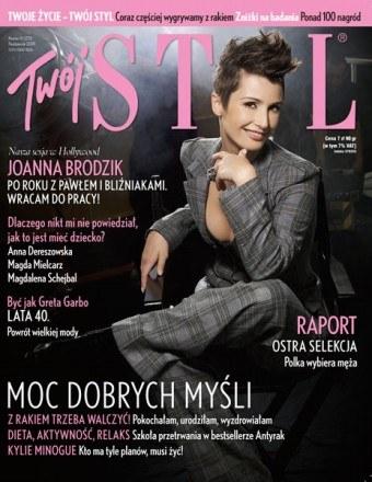 Twój STYL - okładka październikowego wydania magazynu /Twój Styl