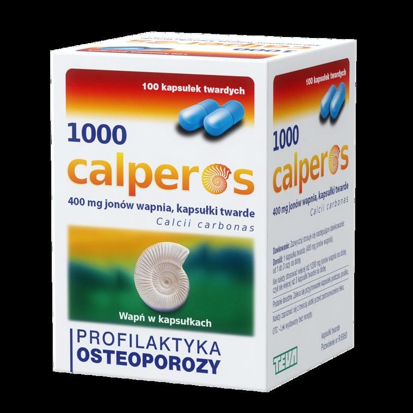 Twoja obrona przed osteoporozą - ruch, dieta i Calperos /INTERIA.PL/materiały prasowe