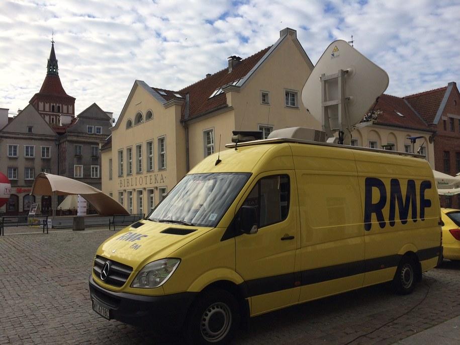 Twoje Miasto w piątek nadaje z Olsztyna /Piotr Bułakowski /RMF FM