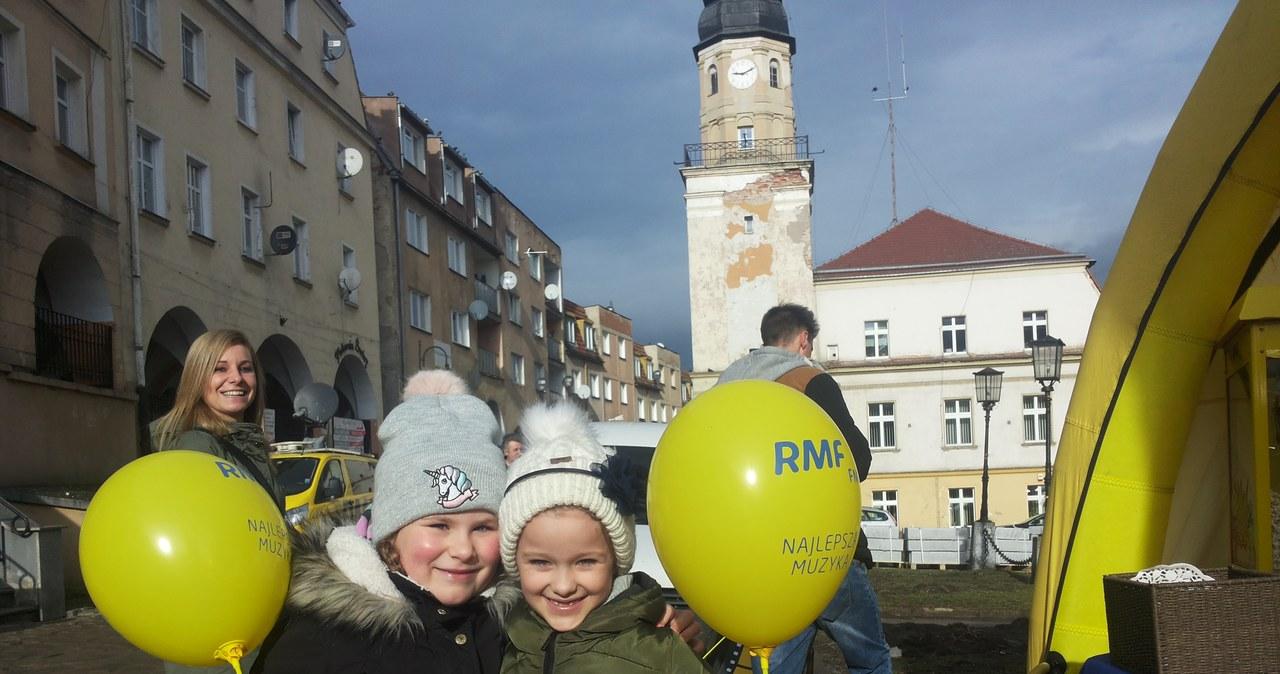 Twoje Miasto w RMF FM: Tak wygląda nasze żółto-niebieskie miasteczko w Bolkowie