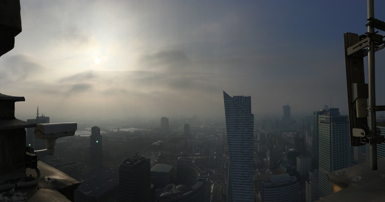 Twoje Niesamowite Miejsce: Widok na Warszawę z 40. piętra PKiN