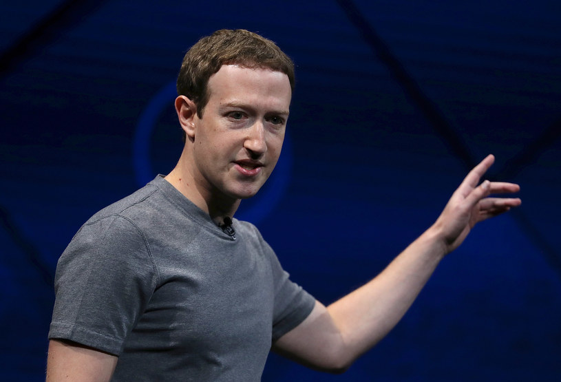 Twórca Facebooka Mark Zuckerberg /JUSTIN SULLIVAN / GETTY IMAGES NORTH AMERICA /AFP