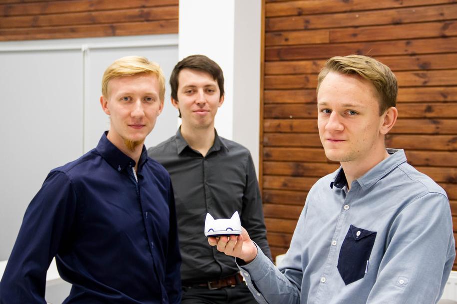 Twórcy elektronicznego liska - przypominajki /Piotr Bułakowski /RMF FM