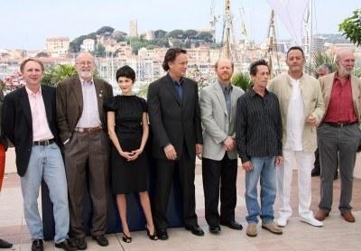 """Twórcy i aktorzy filmu """"Kod Da Vinci"""" na Festiwalu Filmowym w Cannes /AFP"""