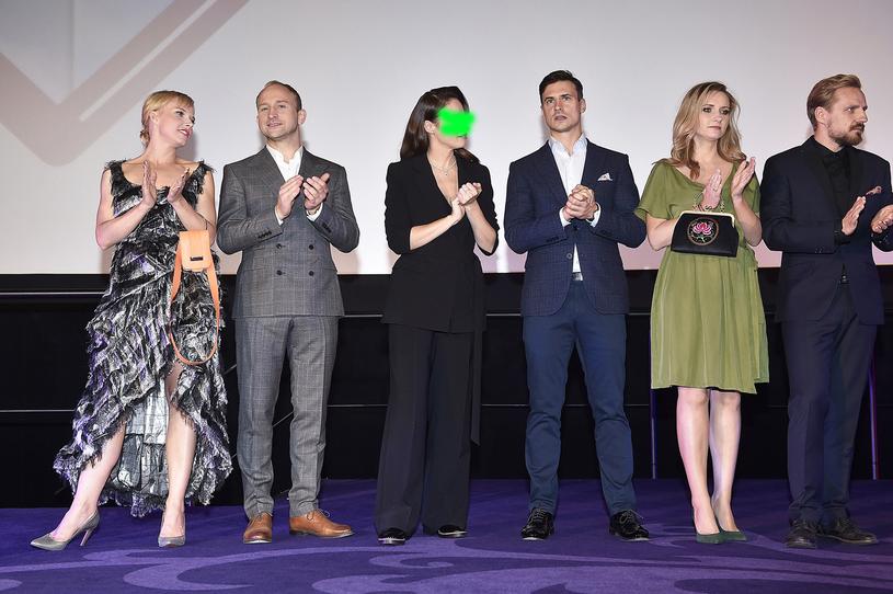 Twórcy komedii: Gąsiorowska, Szyc, twarz dewelopera, Damięcki, Grabowska, Domagała / Jacek Kurnikowski /AKPA