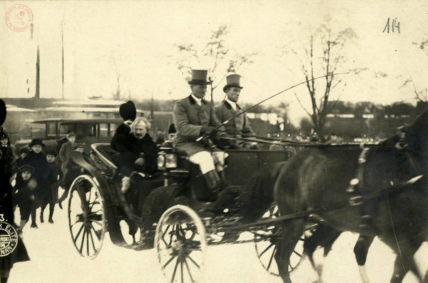 Wjazd Ignacego J. Paderewskiego do Poznania, 26 XII 1918 r.; AAN, Archiwum Ignacego Jana Paderewskiego, sygn. 745