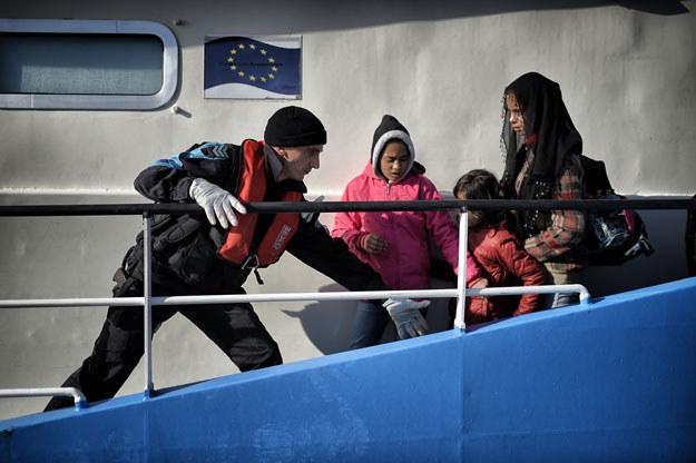 Tworzenie unijnej straży granicznej może rozpocząć się już tego lata /AFP