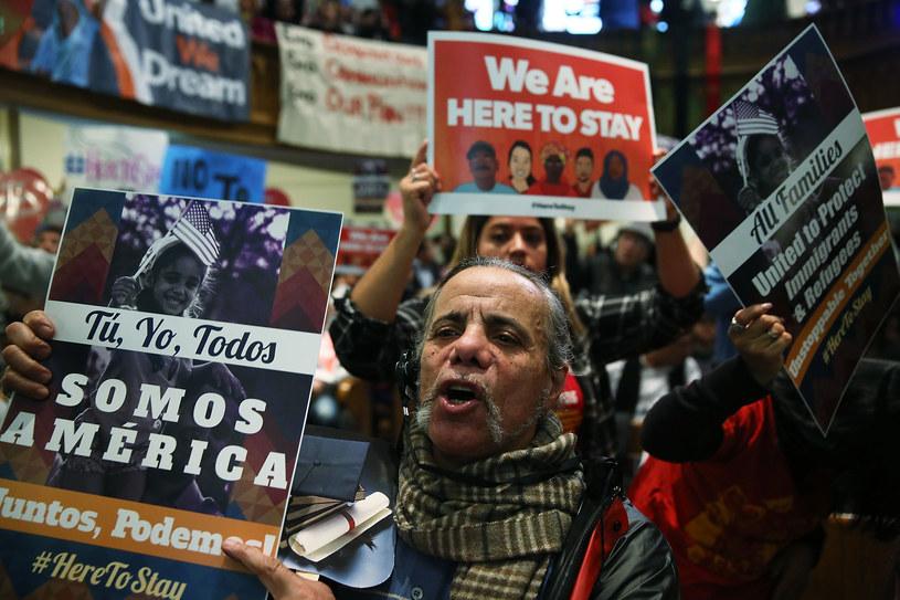 """""""Ty, ja, wszyscy jesteśmy Ameryką!"""" /AFP"""