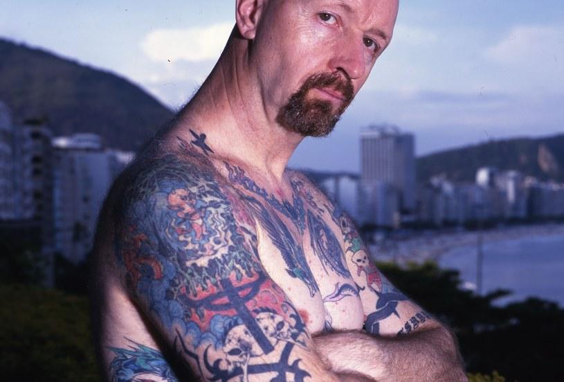 """"""" - Ty to dopiero masz sporo tatuaży! - krzyknęła Madonna. To prawda, miałem ich już wtedy dużo"""" - wspomina Halford. /Mick Hutson/Redferns /Getty Images"""