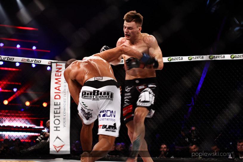 Tyago Moreira i Damian Milewski stoczyli pasjonujący pojedynek /INTERIA.PL