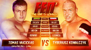 Tyberiusz Kowalczyk - Tomas Vaicickas na Fight Exclusive Night 3