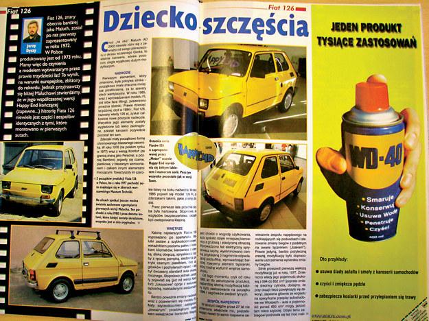 """Tygodnik """"Motor"""" miał swój udział we wpłynięciu na decyzję Fiata o kontynuacji produkcji Malucha po roku 1994. Kiedy pod koniec XX wieku stało się jasne, że Maluch musi opuścić linie produkcyjną, w """"Motorze"""" ogłoszono plebiscyt na nazwę dla pożegnalnej serii modelu. Wygrała nazwa Happy End, której Fiat realnie użył w stosunku do końcowej serii 1000 pojazdów. /Motor"""