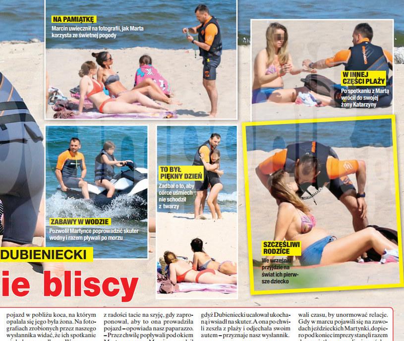 """Tygodnik """"Na Żywo"""" opisuje spotkanie Marty i Marcina na plaży /Na żywo"""