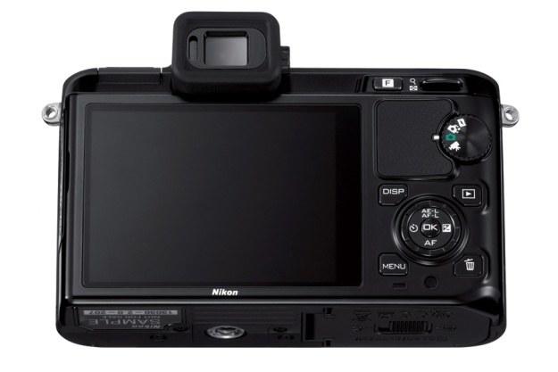 Tył obudowy Nikona 1 V1 /materiały prasowe