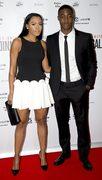 Tyler Blackett i jego partnerka Naomi Thomas