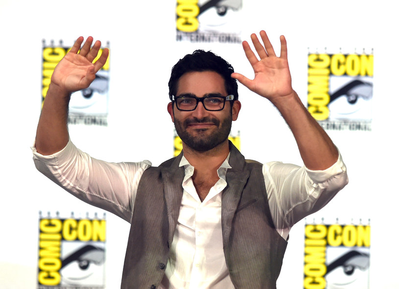 Tyler Hoechlin na konwencie Comic-Con. /Ethan Miller /Getty Images