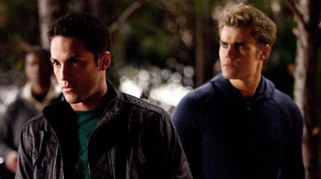 Tyler (Michael Trevino) i Stefan (Paul Wesley) /materiały prasowe