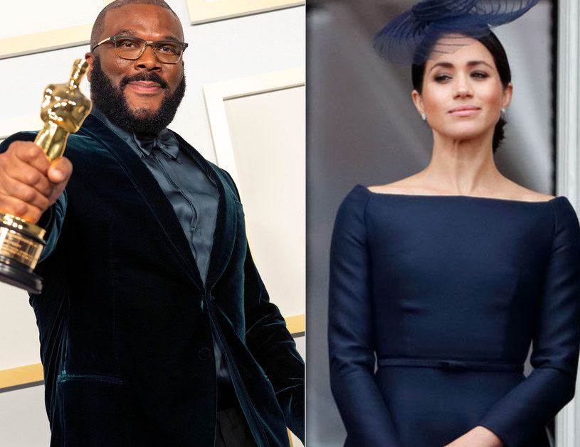 Tyler Perry i Meghan Markle /Handout/Max Mumbly /Getty Images