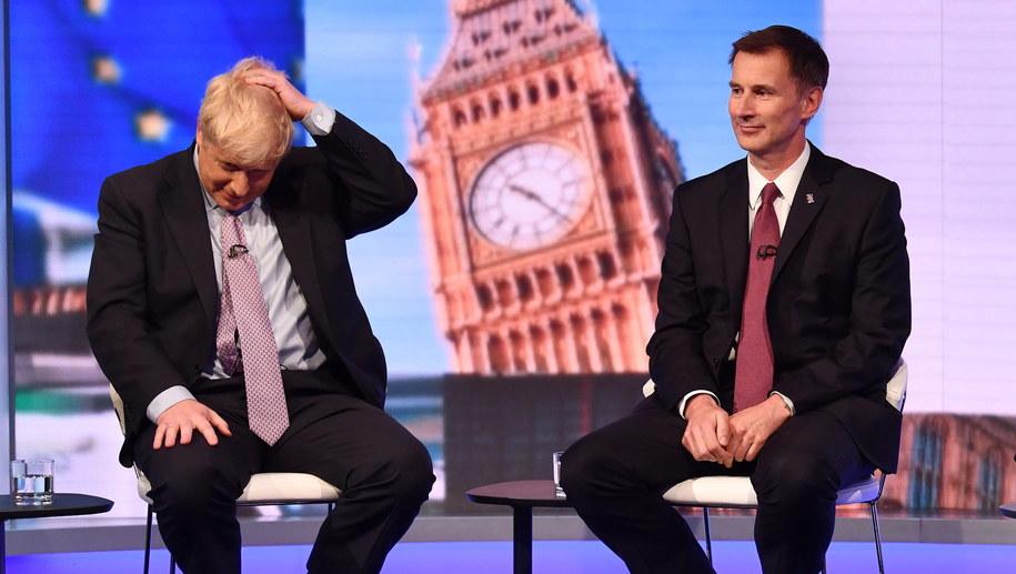 Tylko Boris Johnson i Jeremy Hunt liczą się w walce o bycie szefem Partii Konserwatywnej /EPA/JEFF OVERS / BBC NEWS HANDOUT HANDOUT EDITORIAL USE ONLY/NO SALES  /PAP