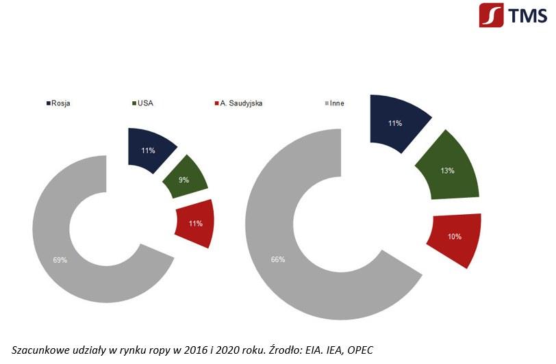 Tylko wspólnie działanie producentów ropy da jakis rezultat /TMS Brokers SA