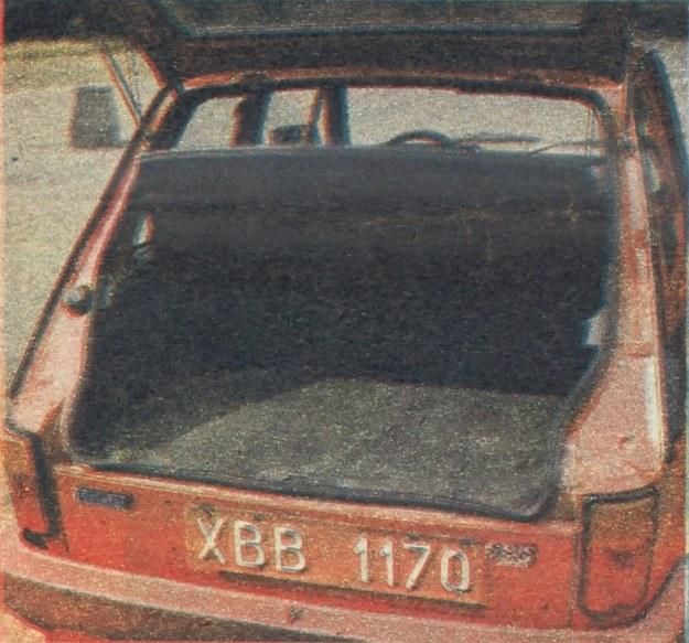 Tylny łatwo dostępny bagażnik bez kłopotu mieści walizkę wraz z niewielką torbą podróżną. /Motor
