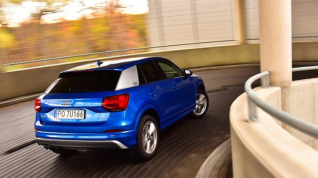 Tylny słupek dachowy Audi Q2 występuje w 6 różnych barwach. /Motor
