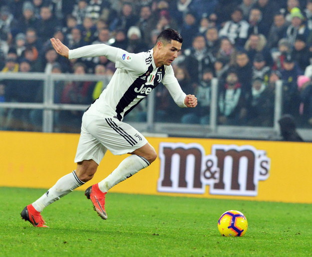Tym razem Cristiano Ronaldo nie trafił do bramki /ANDREA DI MARCO /PAP/EPA