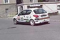 Tym razem Peugeoty 206 XS zobaczymy na nawierzchniach szutrowych /INTERIA.PL