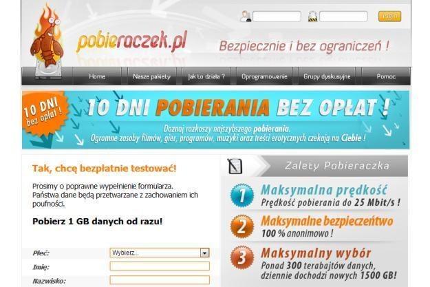 Tym razem serwis pobieraczek.pl zapłacić będzie musiał 215 tys. złotych /materiały prasowe