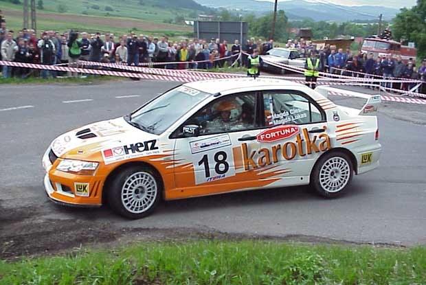 Tym razem w barwach Karotki zobaczymy Subaru Imprezę Sti /INTERIA.PL