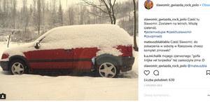 Tym samochodem jeździ Sławomir Zapała!