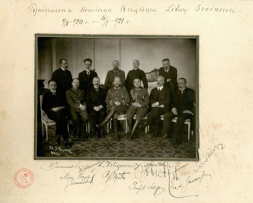 Tymczasowa Komisja Rządząca Litwy Środkowej; AAN, Akta Lucjana Żeligowskiego, sygn. 17 /Archiwum Akt Nowych /