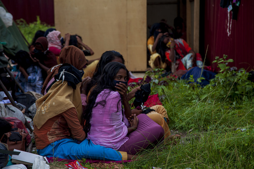 Tymczasowy obóz dla uchodźcó w Indonezji, zdj. ilustracyjne /Oviyandi Emnur/Barcroft Media /Getty Images