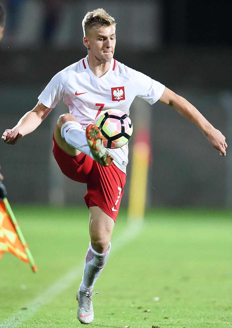 Tymoteusz Klupś, jeden z liderów reprezentacji U19 /Łukasz Sobala /Newspix